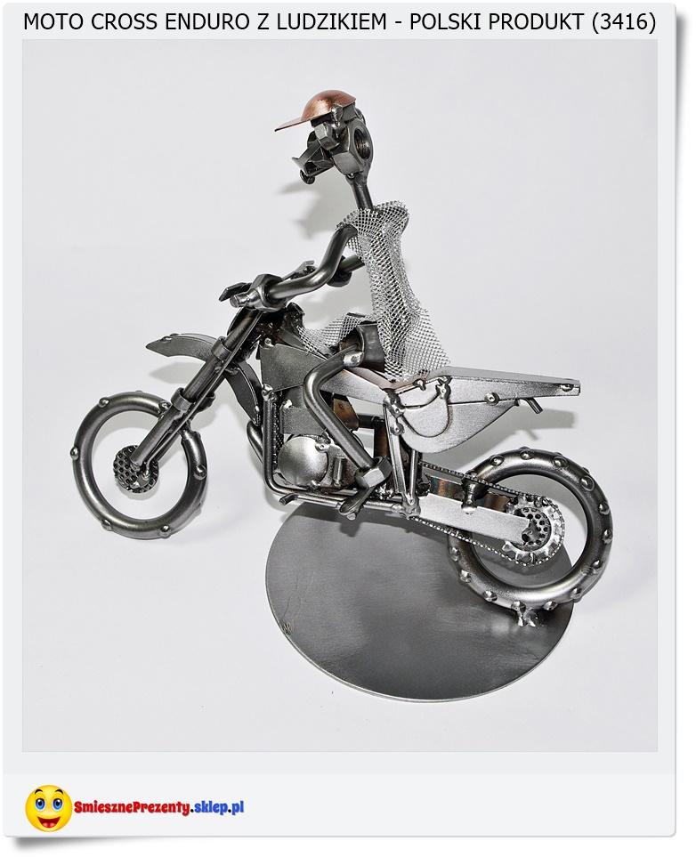 figurka moto cross enduro