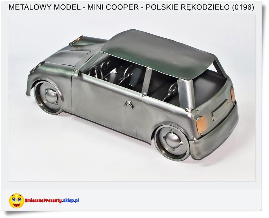 na prezent model samochodu Mini Cooper