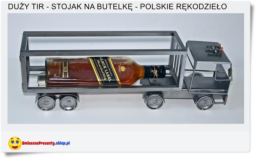 stojak na butelkę samochód ciężarowy